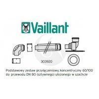 Vaillant zestaw kominowy 60/100 mm, PP koncentryczny kod 303920