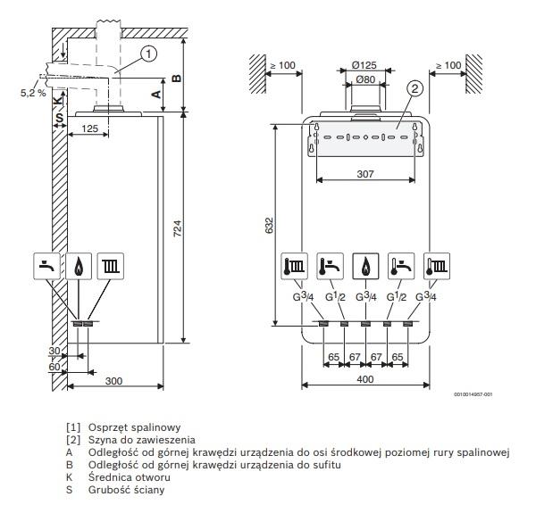 GC2200W 20/25C - schemat