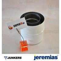 Jeremias adapter Junkers 80/125 na 80/125 złączka do kotła. TWIN1820803080125