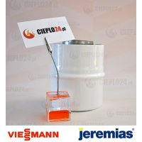 Jeremias adapter Viessmann 60/100 na 60/100, złączka do kotła, TWIN1821101060100