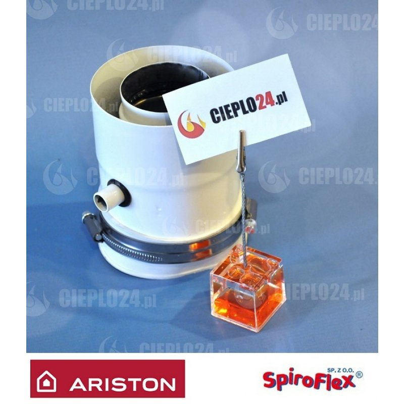 Spiroflex adapter Ariston 60/100  złączka do kotła SX-TD60/100AAROB